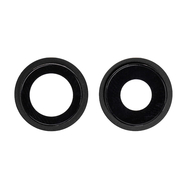Replacement for iPhone 12 Rear Camera Holder with Lens - Black