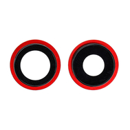 Replacement for iPhone 12 Rear Camera Holder with Lens - Red