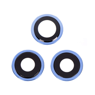 Replacement for iPhone 12 Pro Rear Camera Holder with Lens - Pacific Blue