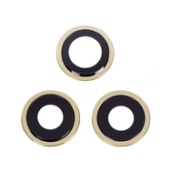 Replacement for iPhone 12 Pro Rear Camera Holder with Lens - Gold