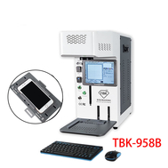 TBK 958B Automatic Laser Removal Back Cover Glass Machine