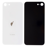 Replacement for iPhone SE 2nd Back Cover - Silver