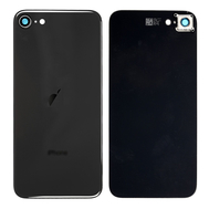 Replacement for iPhone SE 2nd Back Cover with Camera Holder - Space Gray