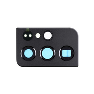 Replacement for Samsung Galaxy S21 Ultra Rear Camera Holder with Lens - Black