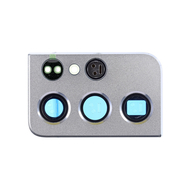 Replacement for Samsung Galaxy S21 Ultra Rear Camera Holder with Lens - Silver