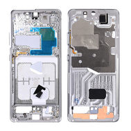 Replacement for Samsung Galaxy S21 Ultra Rear Housing Frame - Silver