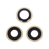 Replacement for iPhone 12 Pro Max Rear Camera Holder with Lens - Gold