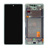 Replacement for Samsung Galaxy S20 FE 5G OLED Screen Assembly with Frame - Cloud Mint