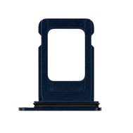 Replacement for iPhone 12 Single SIM Card Tray - Blue