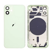 Replacement For iPhone 12 Mini Rear Housing with Frame - Green