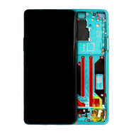 Replacement for OnePlus 8 Pro LCD Screen Digitizer Assembly with Frame - Glacial Green