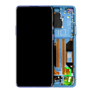 Replacement for OnePlus 8 Pro LCD Screen Digitizer Assembly with Frame - Ultramarine Blue