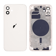Replacement For iPhone 12 Rear Housing with Frame - White