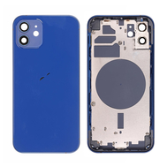 Replacement For iPhone 12 Rear Housing with Frame - Blue