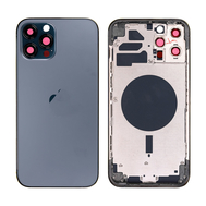 Replacement For iPhone 12 Pro Max Rear Housing with Frame - Pacific Blue