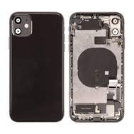 Replacement for iPhone 11 Back Cover Full Assembly - Black