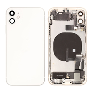 Replacement for iPhone 11 Back Cover Full Assembly - White