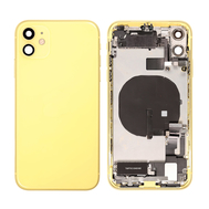 Replacement for iPhone 11 Back Cover Full Assembly - Yellow