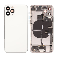 Replacement for iPhone 11 Pro Back Cover Full Assembly - Silver