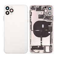 Replacement for iPhone 11 Pro Max Back Cover Full Assembly - Silver