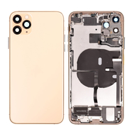 Replacement for iPhone 11 Pro Max Back Cover Full Assembly - Gold