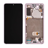 Replacement for Samsung Galaxy S21 OLED Screen Assembly with Frame - Violet