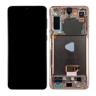 Replacement for Samsung Galaxy S21 Plus OLED Screen Assembly with Frame - Phantom Violet