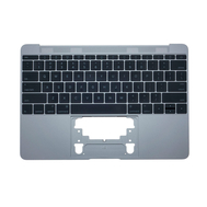 """Space Gray Upper Case with Keyboard for MacBook Retina 12"""" A1534 (Early 2016 - Mid 2017)"""