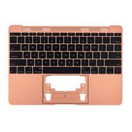 """Rose Gold Upper Case with Keyboard for MacBook Retina 12"""" A1534 (Early 2016 - Mid 2017)"""