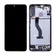 Replacement for Huawei P20 Pro LCD Screen Digitizer Assembly with Frame - Twilight