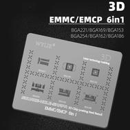 WYLIE 3D EMMC/EMCP BGA Reball Stencil