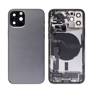 Replacement for iPhone 12 Pro Back Cover Full Assembly - Graphite