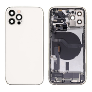 Replacement for iPhone 12 Pro Back Cover Full Assembly - Silver