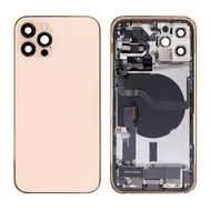 Replacement for iPhone 12 Pro Back Cover Full Assembly - Gold