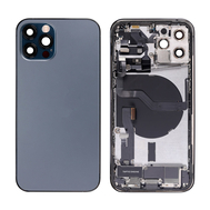 Replacement for iPhone 12 Pro Back Cover Full Assembly - Pacific Blue