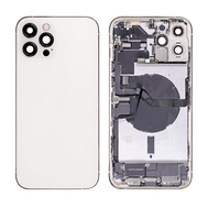 Replacement for iPhone 12 Pro Max Back Cover Full Assembly - Silver