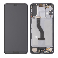 Replacement for Huawei P20 Pro LCD Screen Digitizer Assembly with Frame - Black