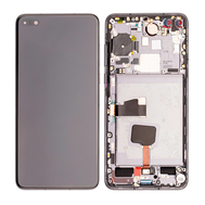 Replacement for Huawei P40 LCD Screen Digitizer Assembly with Frame - Black
