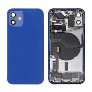 Replacement for iPhone 12 Back Cover Full Assembly - Blue