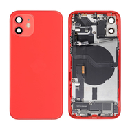 Replacement for iPhone 12 Back Cover Full Assembly - Red