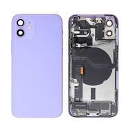 Replacement for iPhone 12 Back Cover Full Assembly - Purple