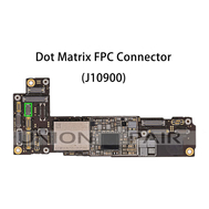 Replacement for iPhone 12/12 Mini/12 Pro/12 Pro Max Receiver Inductor Light Sensor Connector Port Onboard