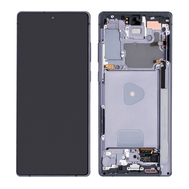 Replacement for Samsung Galaxy Note 20 OLED Screen Assembly with Frame - Mystic Gray