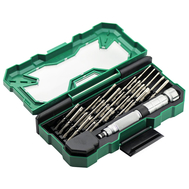 30-Piece Aluminum Precision Screwdriver #LA613130