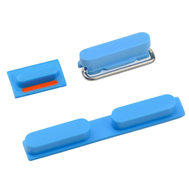 Replacement for iPhone 5C Side Buttons - Blue