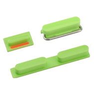 Replacement for iPhone 5C Side Buttons - Green
