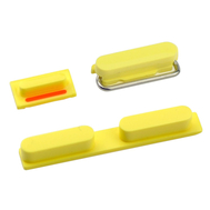 Replacement for iPhone 5C Side Buttons - Yellow