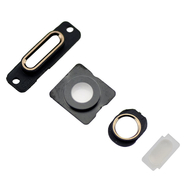 Replacement for iPhone 5S Back Cover Port Metal Bracket - Gold