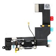 Replacement for iPhone 5S Dock Connector Flex Cable Black