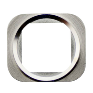 Replacement for iPhone 5S/SE Home Button Metal Ring - Silver